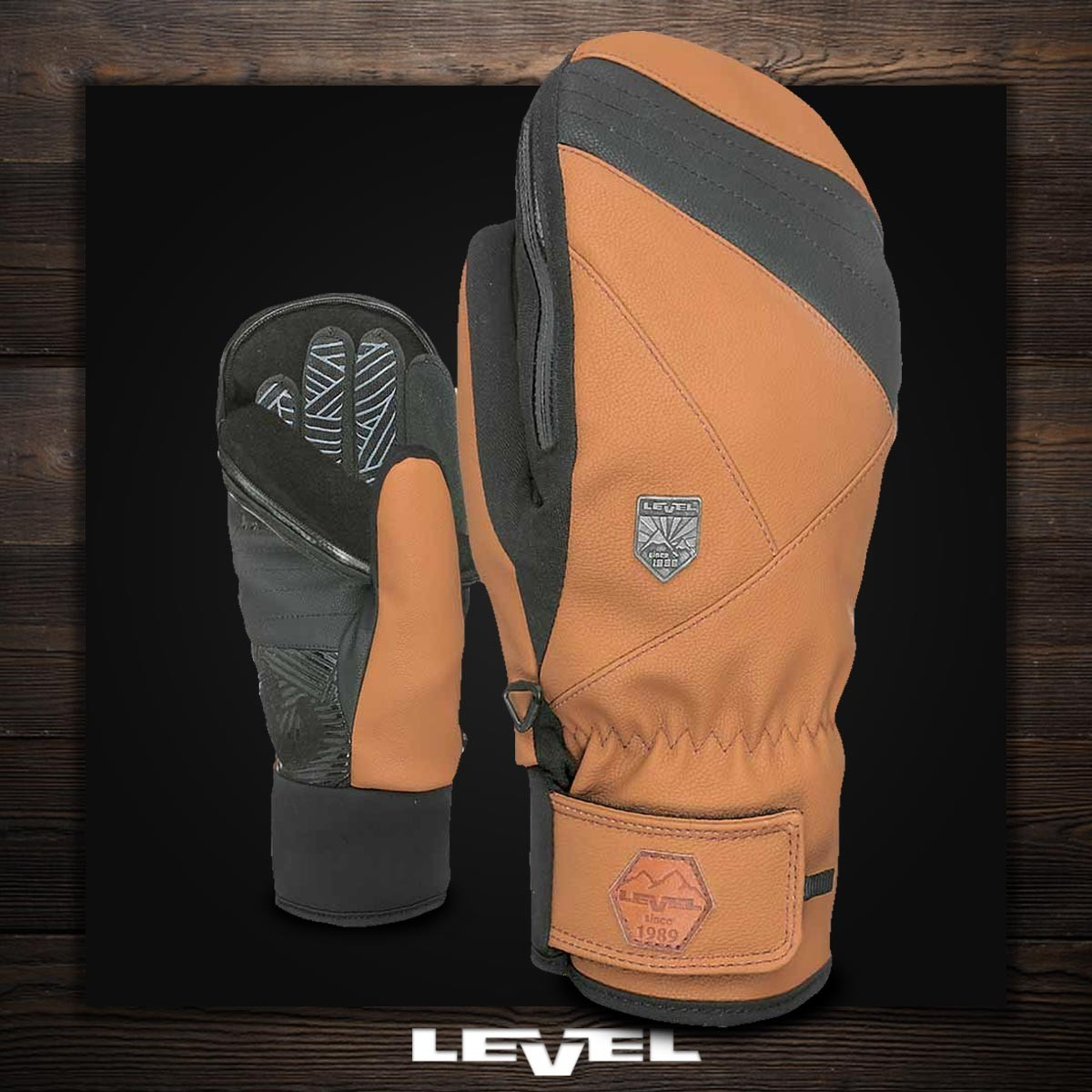 LEVEL 3 IN 1 STEALTH MITT pk brown - Изображение - AQUAMATRIX