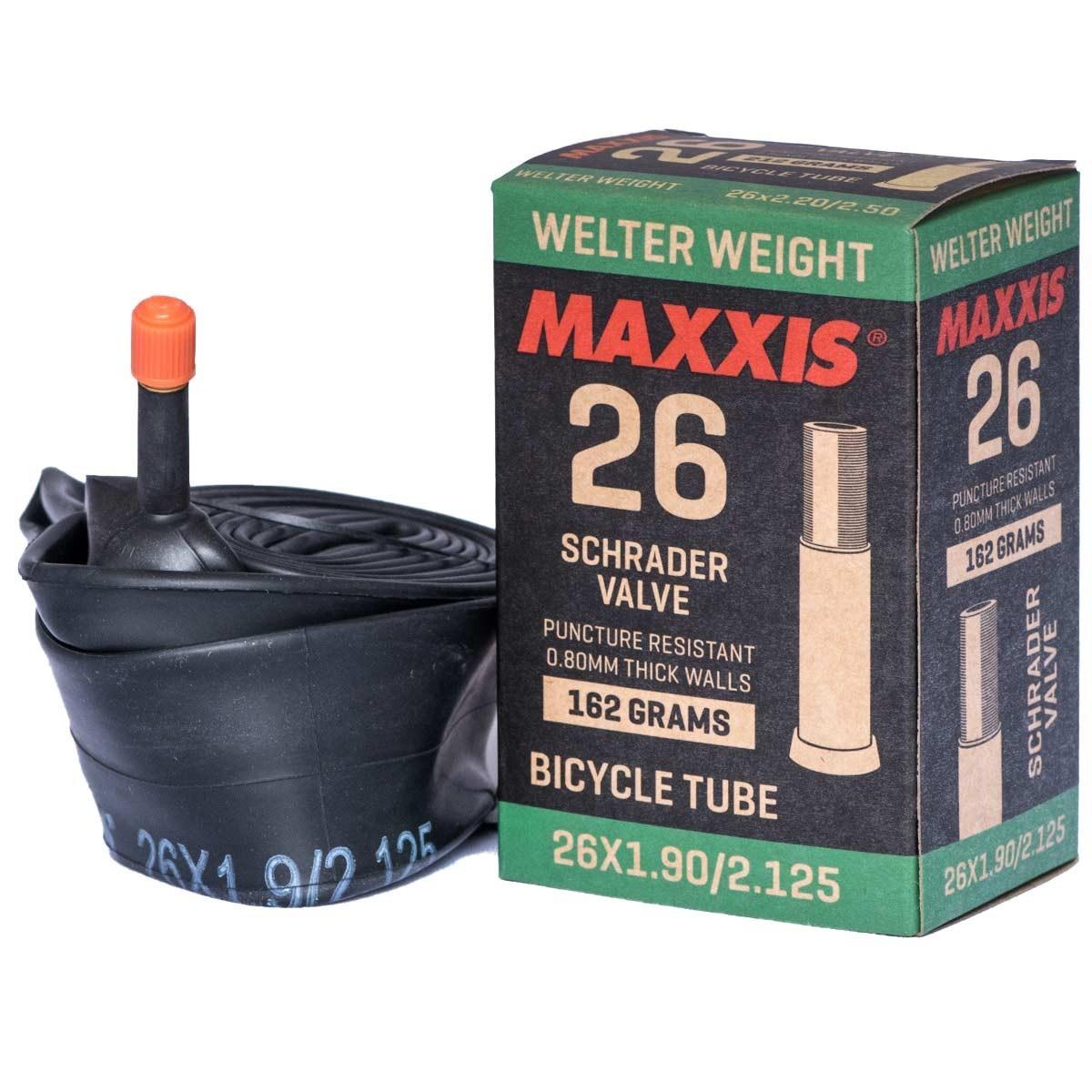 MAXXIS WELTER WEIGHT 26X1.50/2.50   Автомобилен Вентил (Low Lead) 48mm BOX - Изображение - AQUAMATRIX