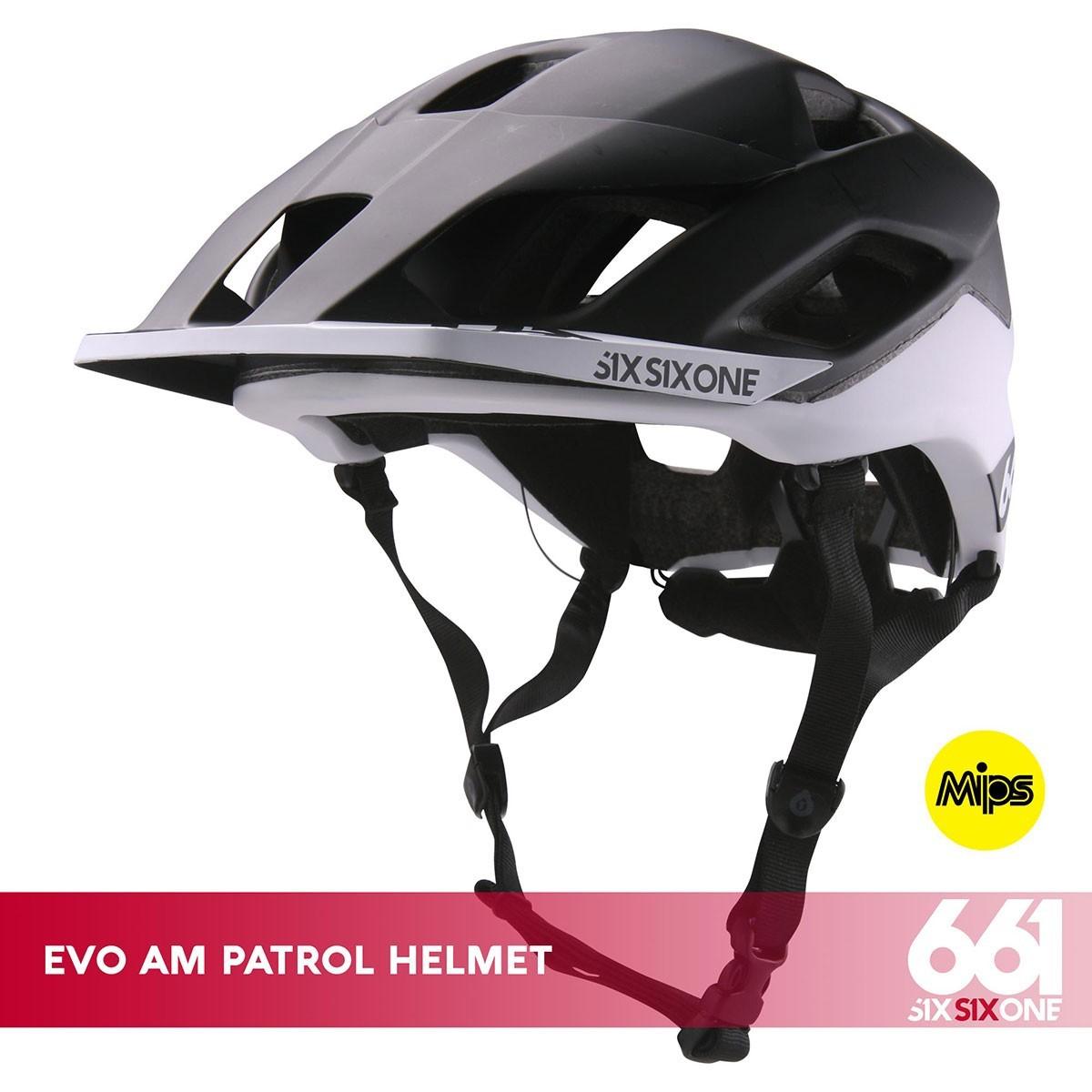 661 EVO AM PATROL MIPS CE BLACK/WHITE - Изображение - AQUAMATRIX