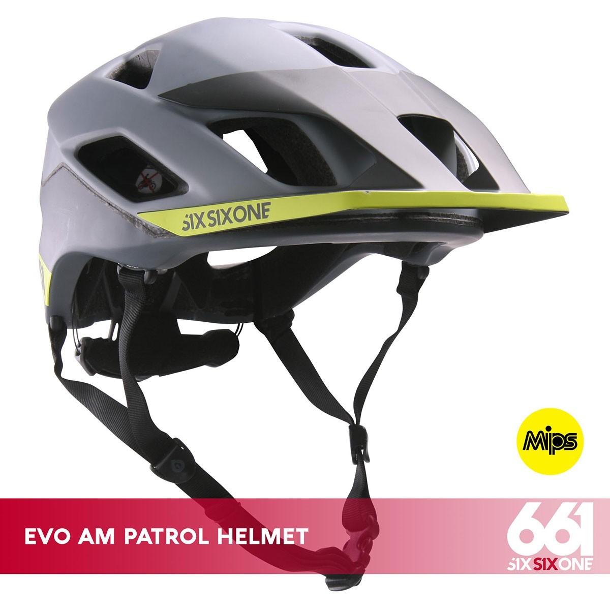 661 EVO AM PATROL MIPS CE MATTE GRAY - Изображение - AQUAMATRIX