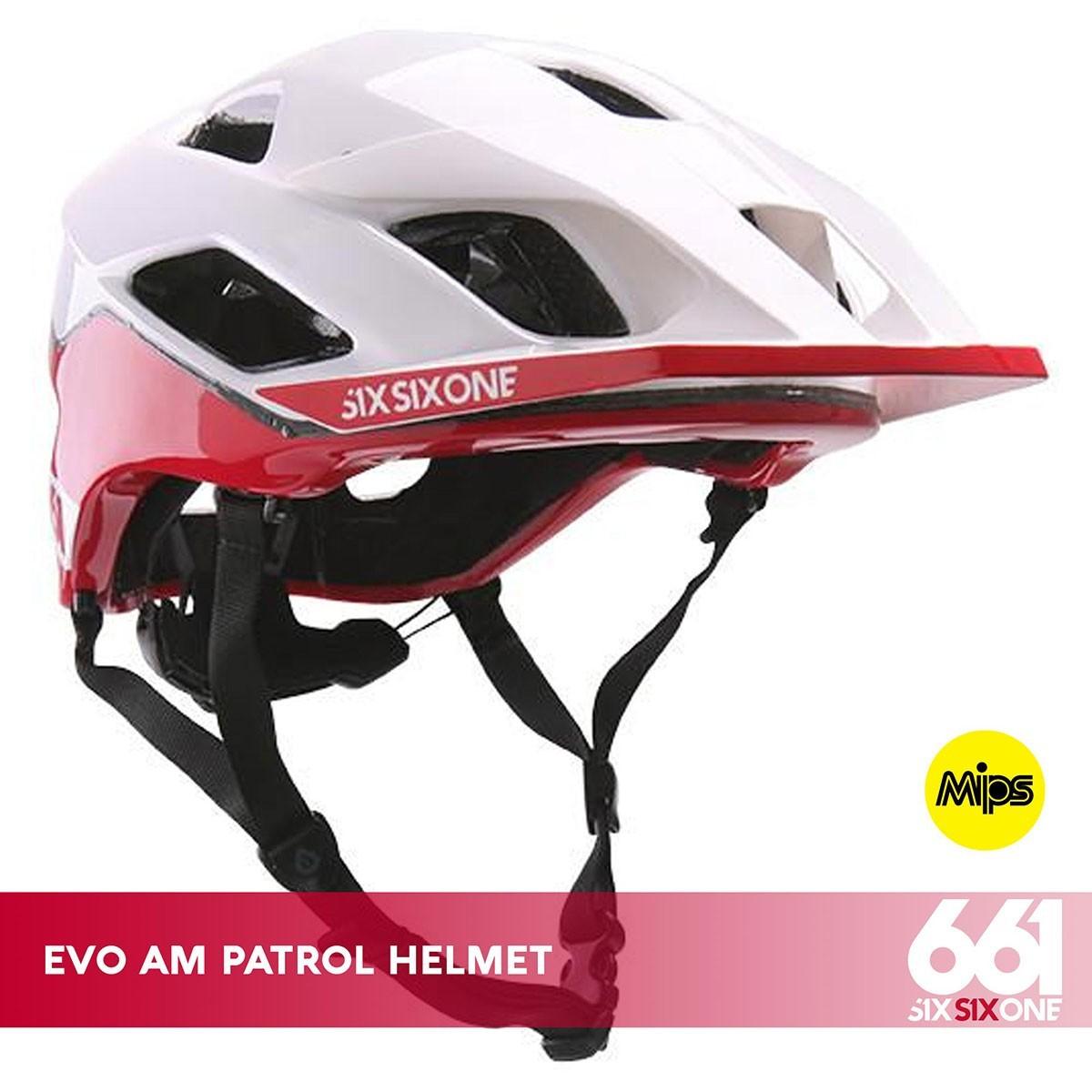 661 EVO AM PATROL MIPS CE WHITE RED - Изображение - AQUAMATRIX