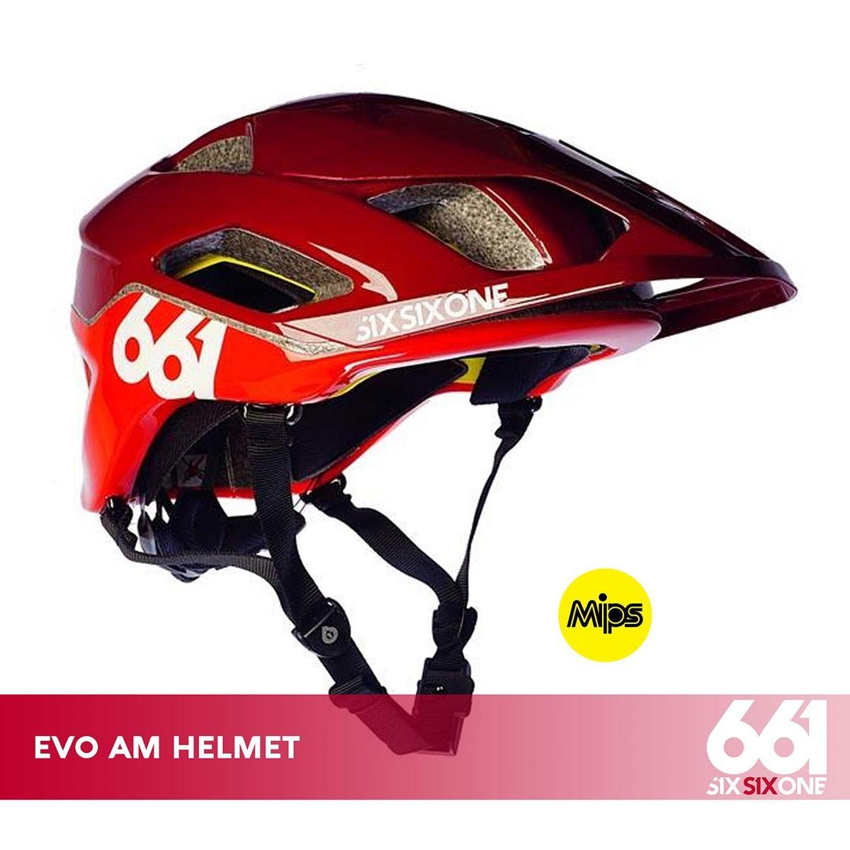 661 EVO AM MIPS CE MATADOR RED - Изображение - AQUAMATRIX