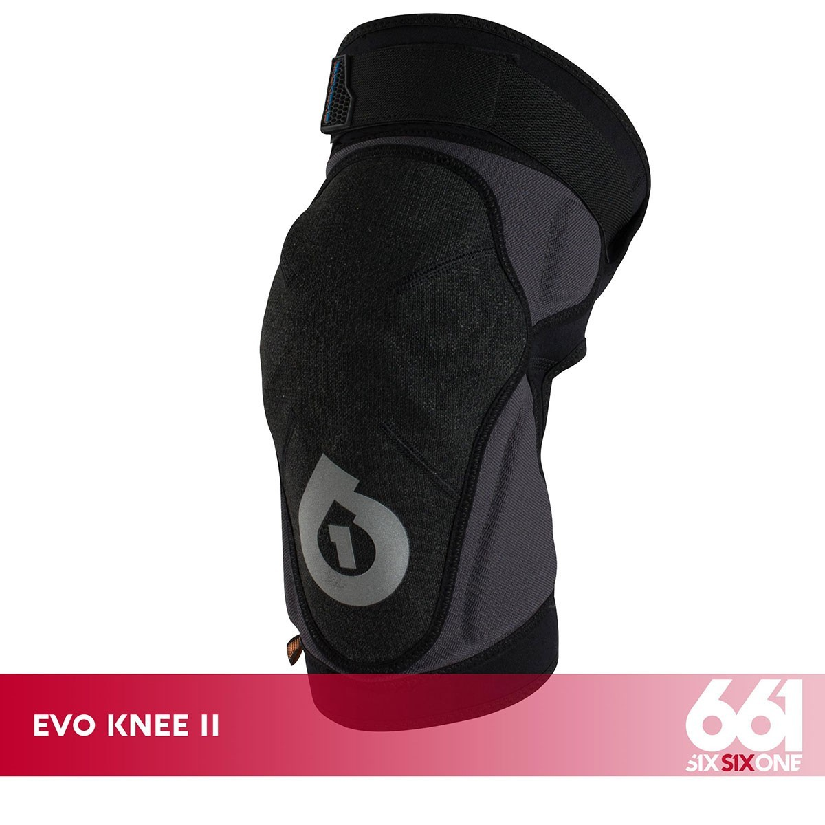 661 EVO KNEE II BLACK - Изображение - AQUAMATRIX