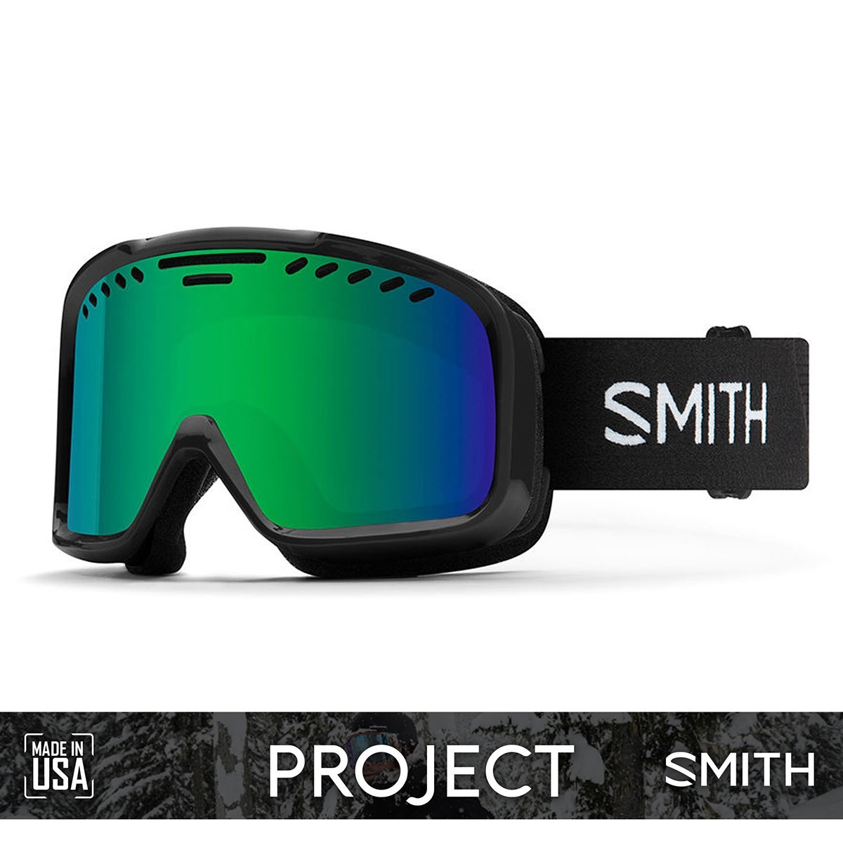 SMITH PROJECT Black | S3 GREEN SOL-X Mirror - Изображение - AQUAMATRIX