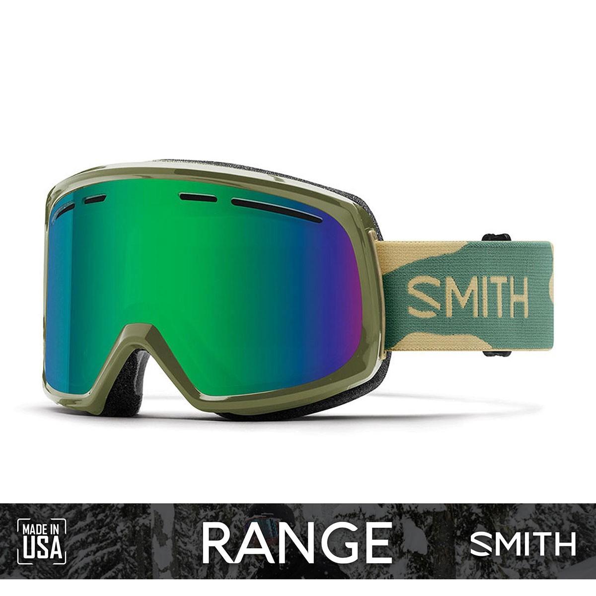 SMITH RANGE Camo | S3 GREEN SOL-X Mirror - Изображение - AQUAMATRIX