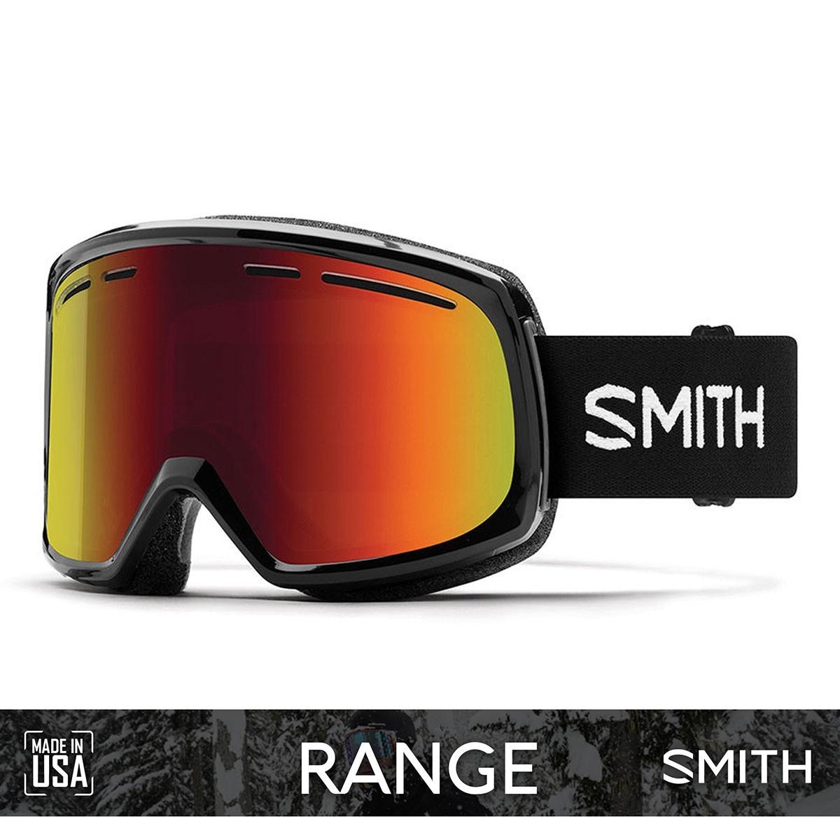 SMITH RANGE Black   S3 RED SOL-X Mirror - Изображение - AQUAMATRIX