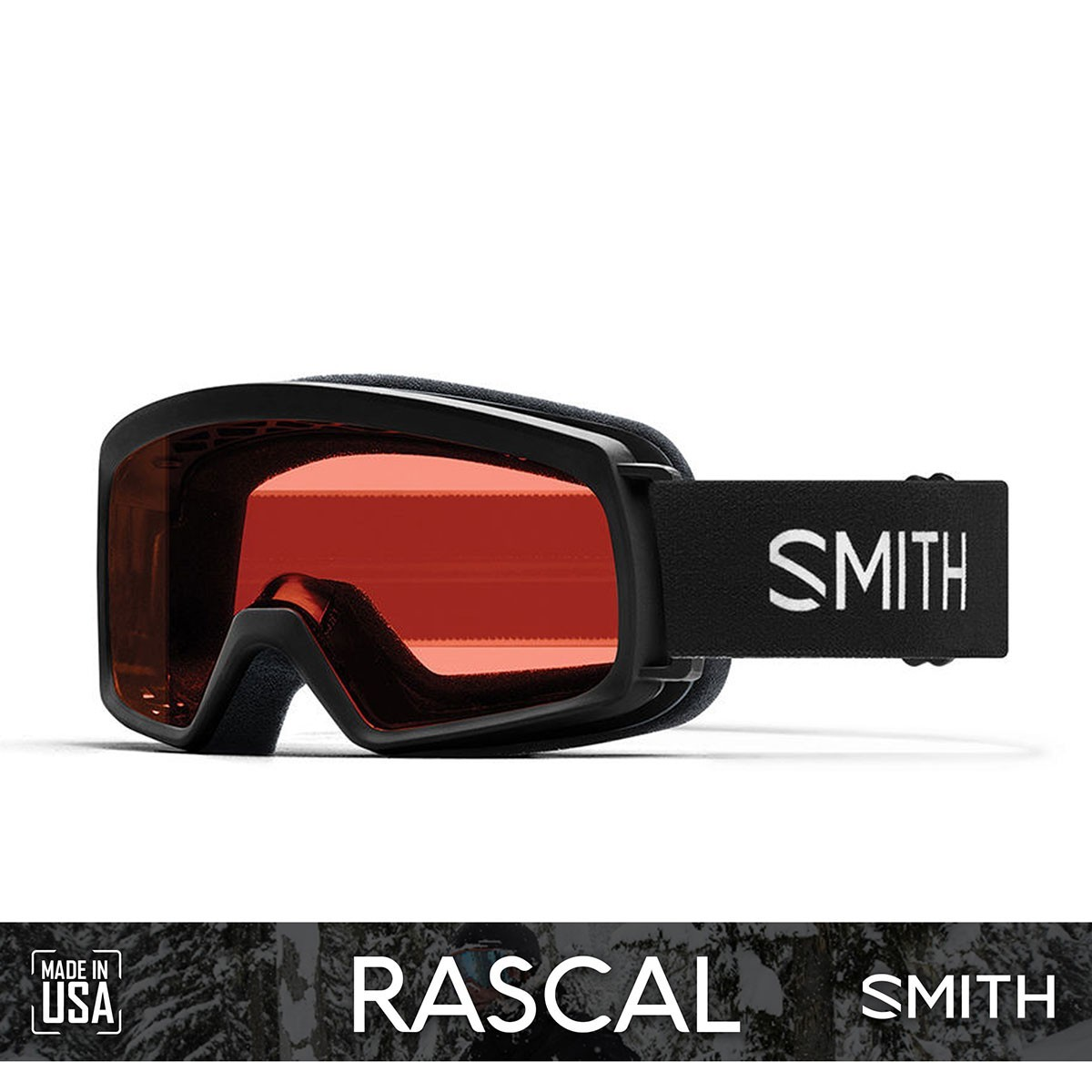 SMITH RASCAL Black | S2 RC36 ROSEC - Изображение - AQUAMATRIX