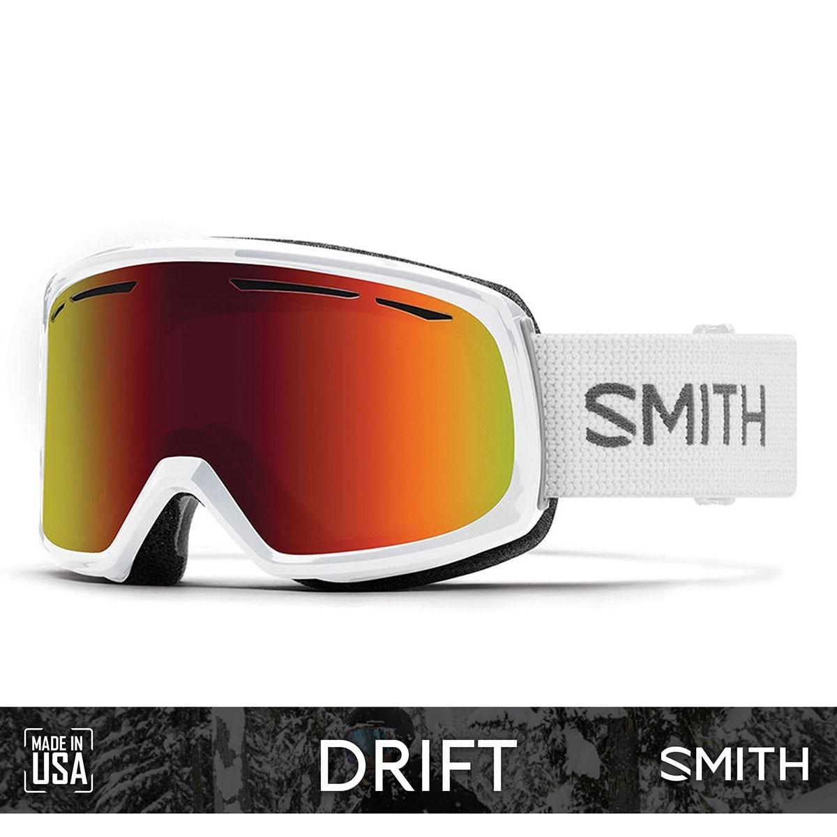 SMITH DRIFT White | S3 RED SOL-X Mirror - Изображение - AQUAMATRIX