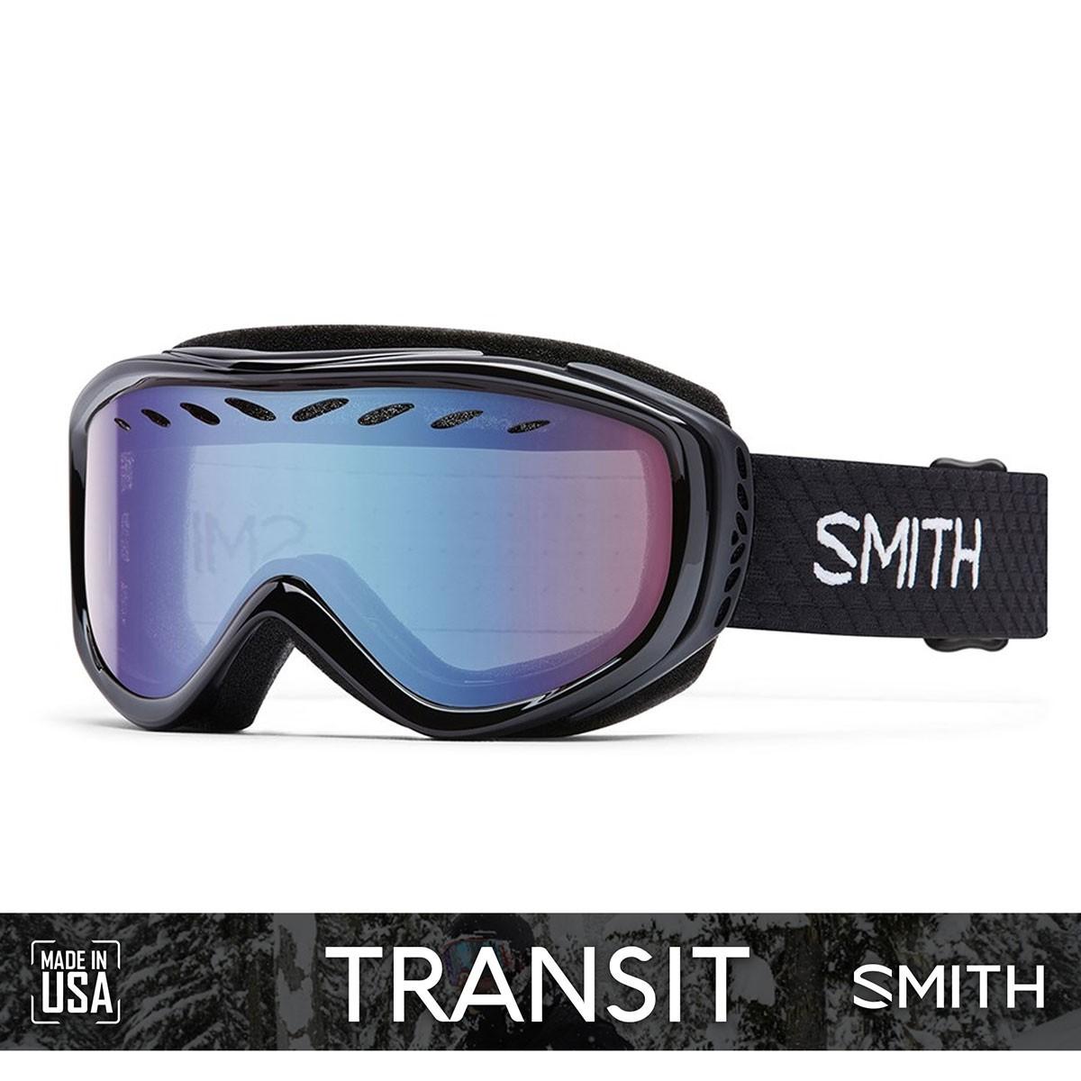 SMITH TRANSIT Black | S2 RED Sensor Mirror - Изображение - AQUAMATRIX