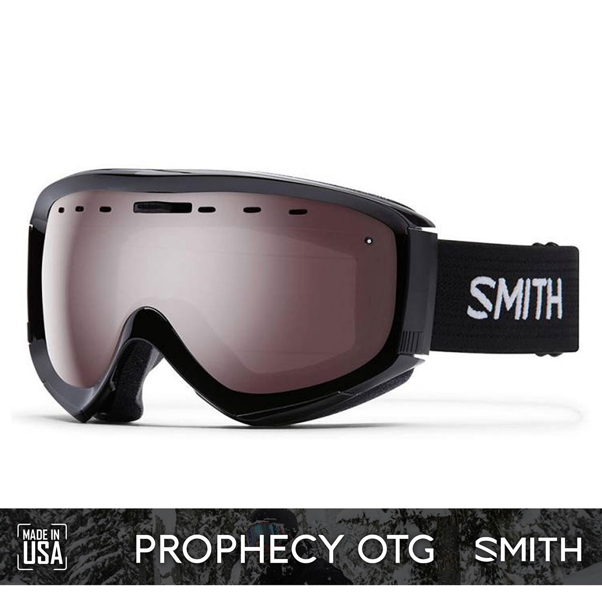 SMITH PROPHECY OTG Black | S2 IGNITOR Mirror - Изображение - AQUAMATRIX
