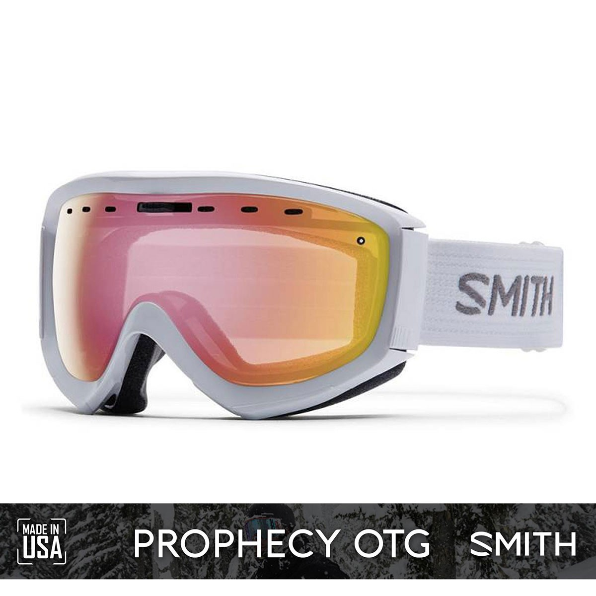 SMITH PROPHECY OTG White | S2 RED Sensor Mirror - Изображение - AQUAMATRIX