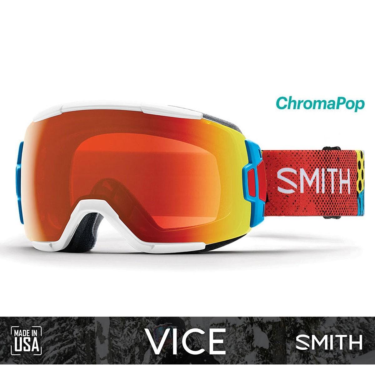 SMITH VICE Burnside | S2 CHROMAPOP Everyday Red Mirror - Изображение - AQUAMATRIX