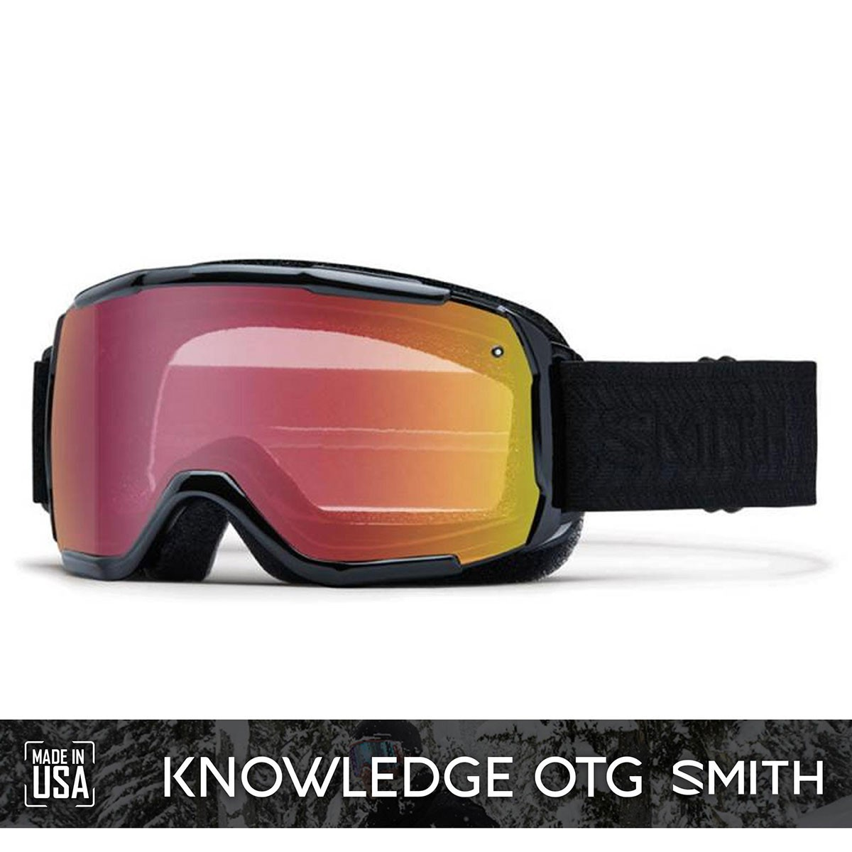 SMITH SHOWCASE OTG Black | S2 RED Sensor Mirror - Изображение - AQUAMATRIX