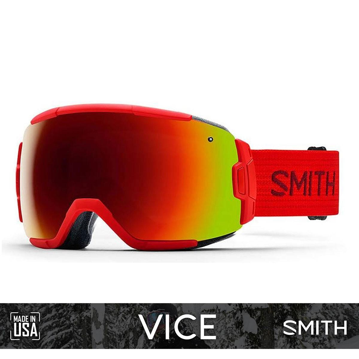 SMITH VICE Fire   S3 RED SOL-X Mirror - Изображение - AQUAMATRIX