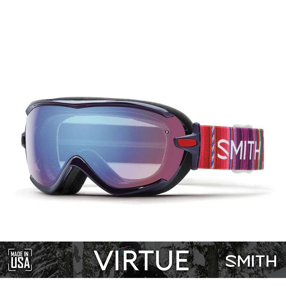 SMITH VIRTUE Cuzco | S2 BLUE Sensor Mirror - Изображение - AQUAMATRIX