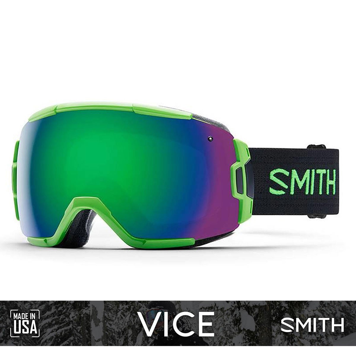 SMITH VICE Reactor | S3 GREEN SOL-X Mirror - Изображение - AQUAMATRIX