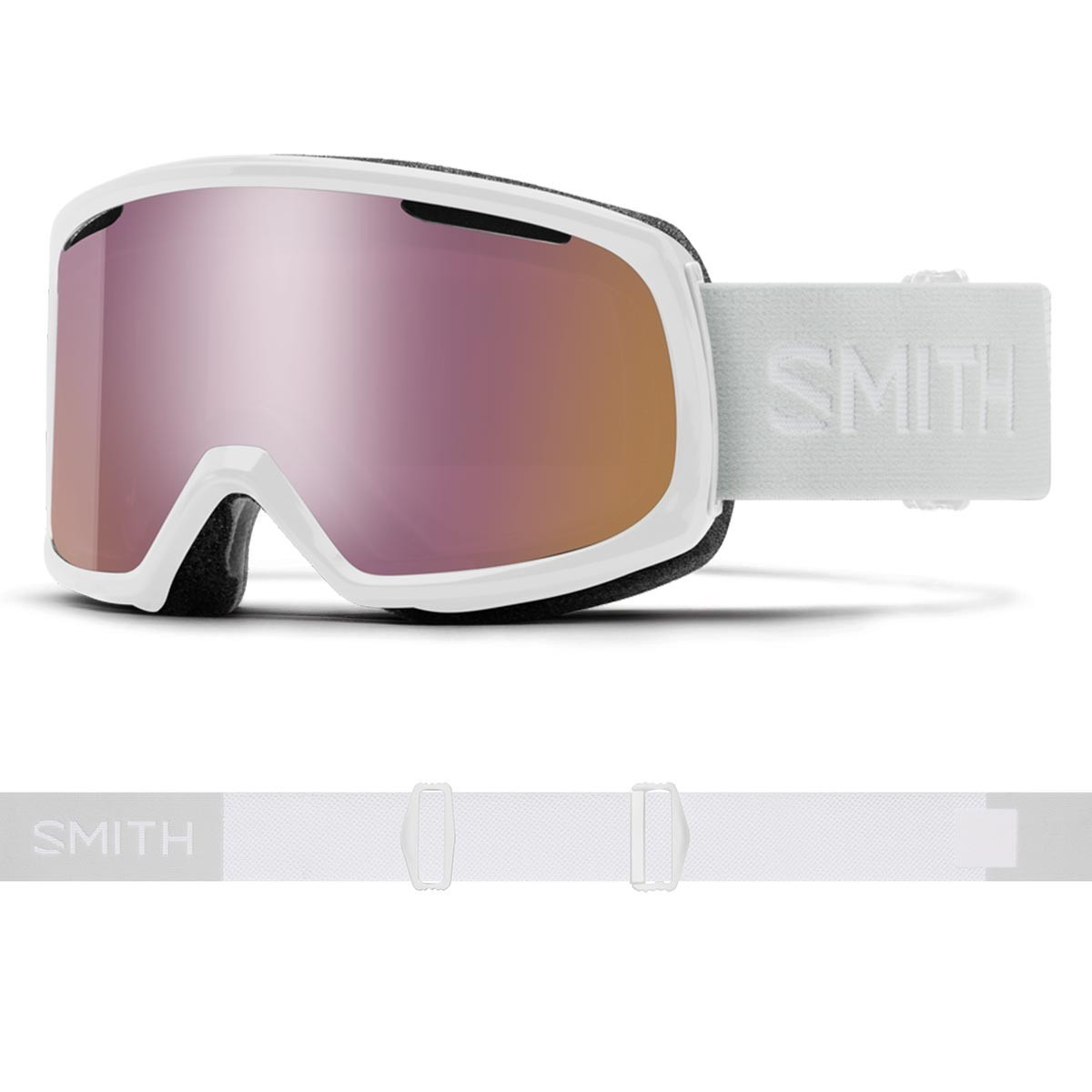 SMITH RIOT white vapor | S2 CHROMAPOP Everyday RoseGold Mirror - Изображение - AQUAMATRIX