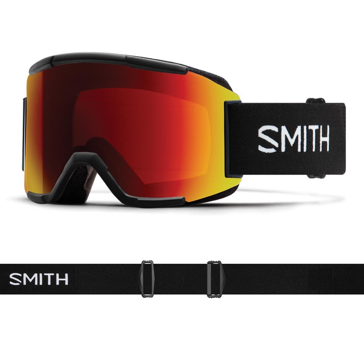 SMITH SQUAD black | S3-S2 CHROMAPOP Photochromic Red Mirror - Изображение - AQUAMATRIX