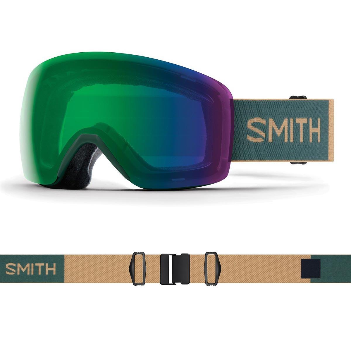 SMITH SKYLINE spruce safari   S2 CHROMAPOP Everyday Green Mirror - Изображение - AQUAMATRIX