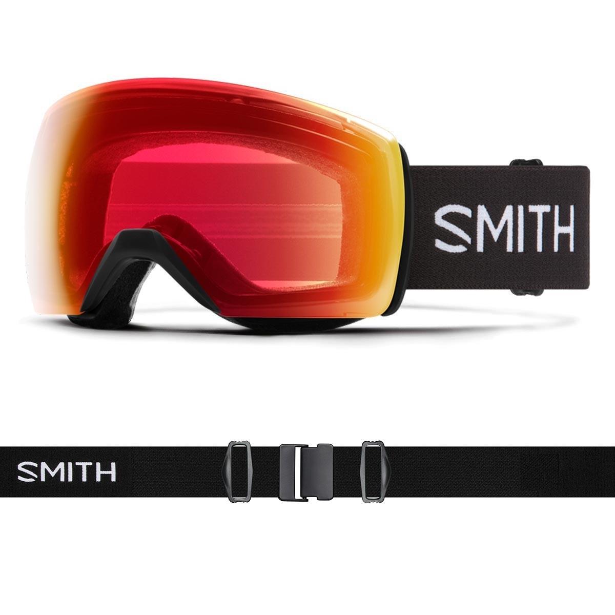 SMITH SKYLINE XL black | S2-S1 CHROMAPOP Photochromic Rose Flash - Изображение - AQUAMATRIX