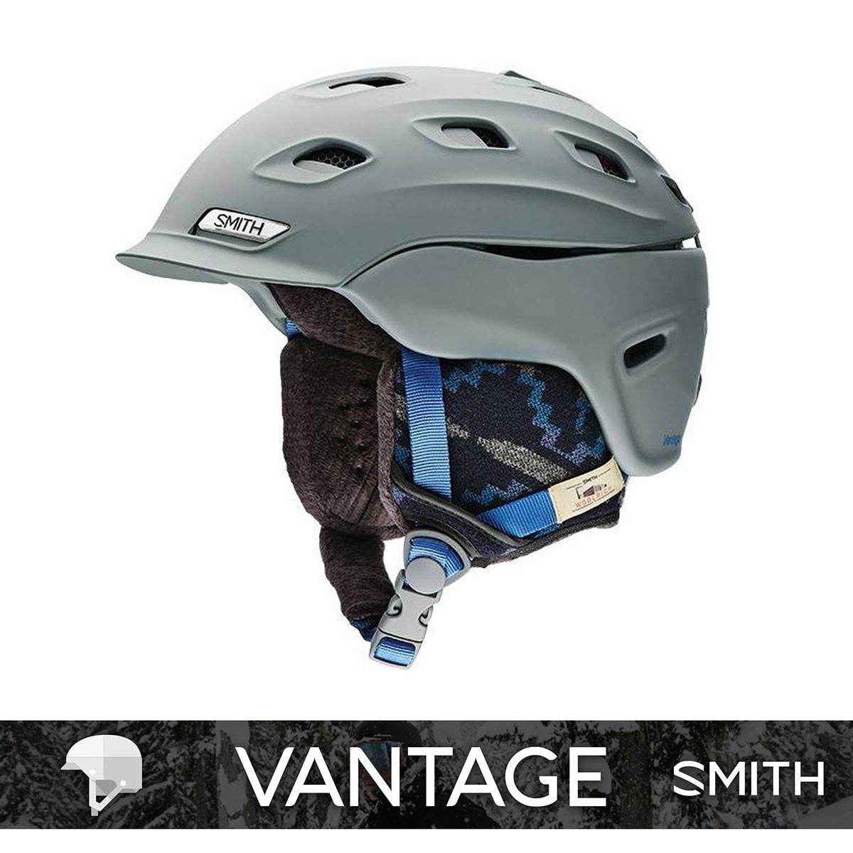 SMITH VANTAGE WOMENS matte Frost Woolrich - Изображение - AQUAMATRIX