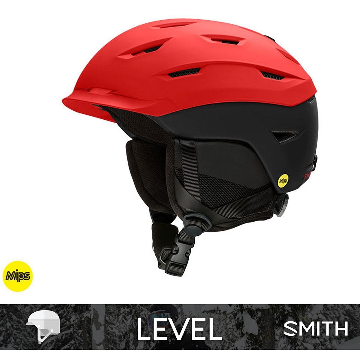 SMITH LEVEL MIPS matte Rise Black - Изображение - AQUAMATRIX