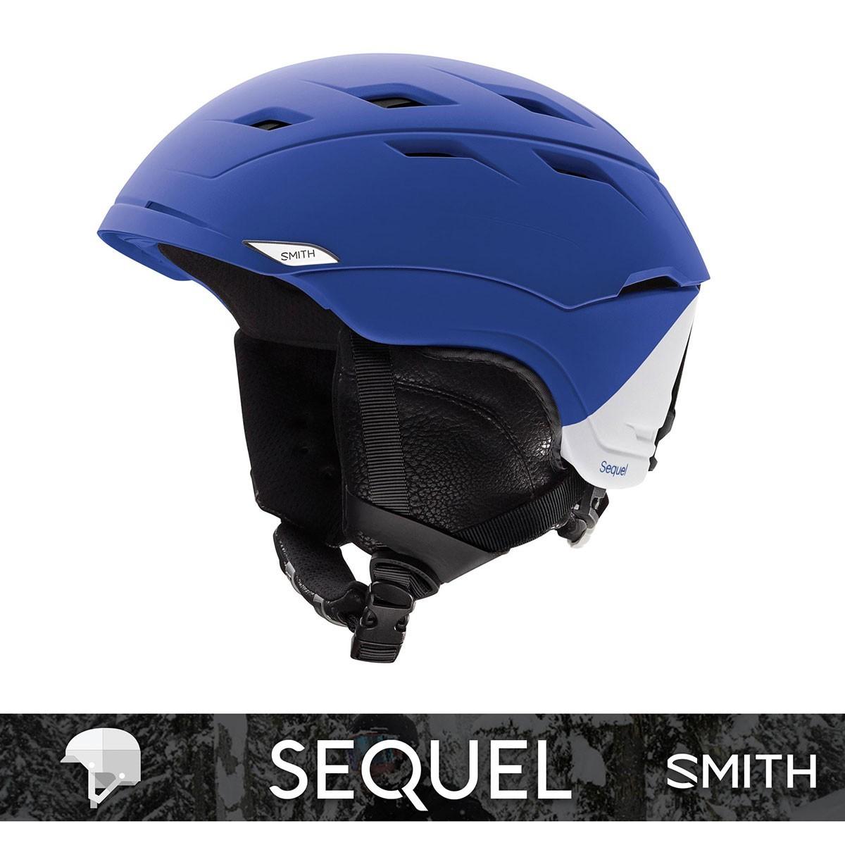 SMITH SEQUEL matte Klein Blue Splater - Изображение - AQUAMATRIX