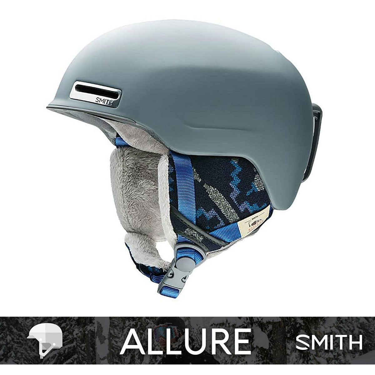 SMITH ALLURE matte Frost Woolrich - Изображение - AQUAMATRIX