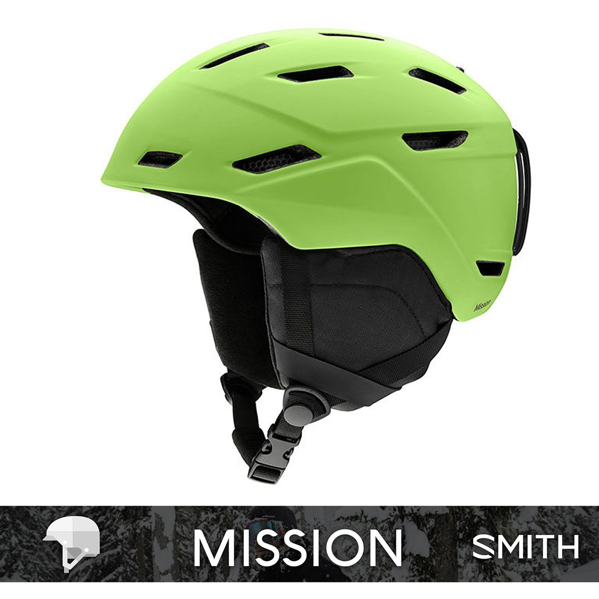 SMITH MISSION matte Flash - Изображение - AQUAMATRIX