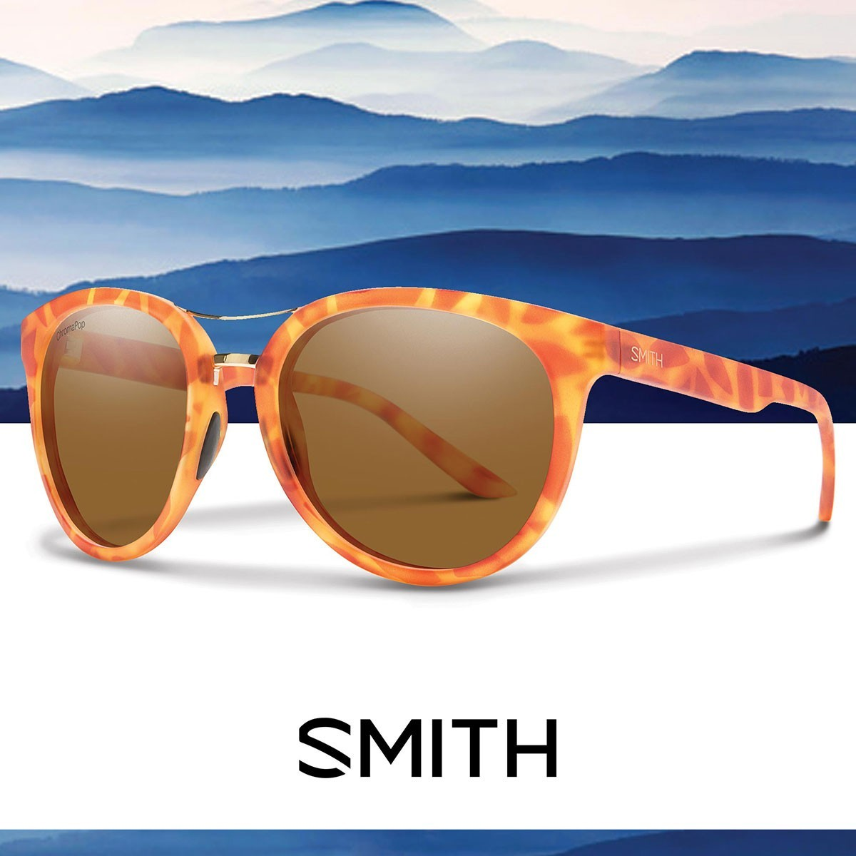 SMITH BRIDGETOWN Matte Golden Tort CHROMAPOP - Изображение - AQUAMATRIX