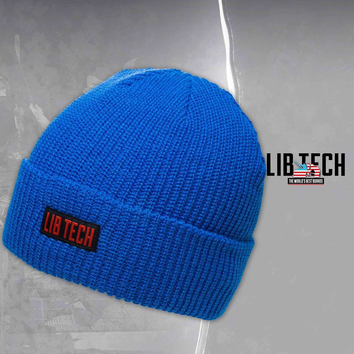 LIB CAPTAIN BEANIE BLUE - Изображение - AQUAMATRIX
