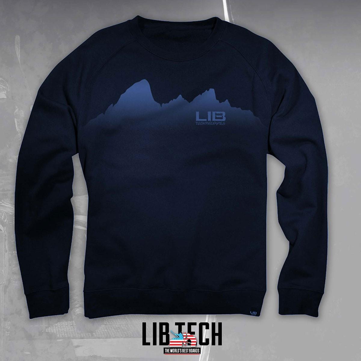 LIB TETON L/S TEE BLUE - Изображение - AQUAMATRIX