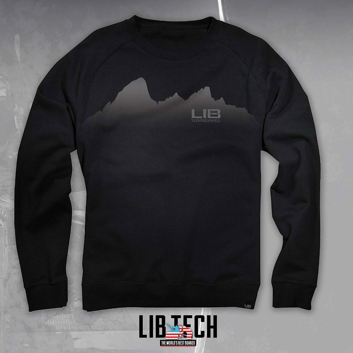 LIB TETON L/S TEE BLACK - Изображение - AQUAMATRIX