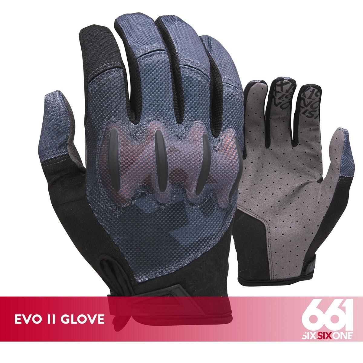 EVO II GLOVE BLACK/GRAY - Изображение - AQUAMATRIX