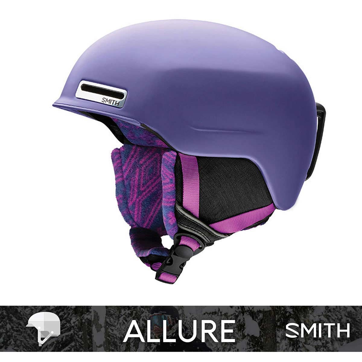 SMITH ALLURE matte Dusty Lilac - Изображение - AQUAMATRIX