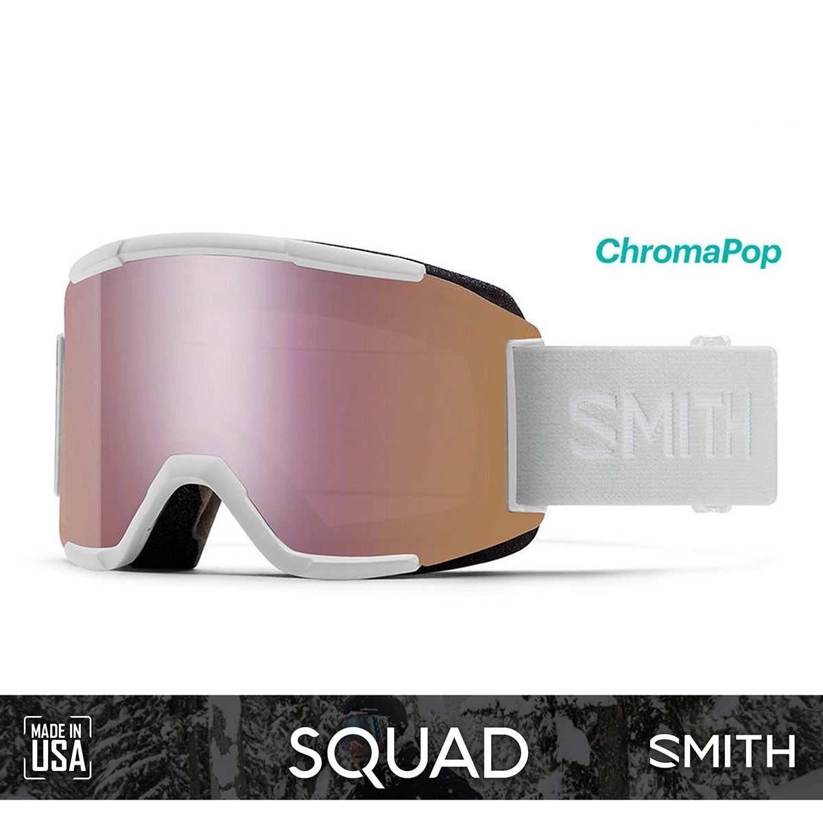 SMITH SQUAD White Vapor | S2-S1 CHROMAPOP Photochromic Rose Flash - Изображение - AQUAMATRIX